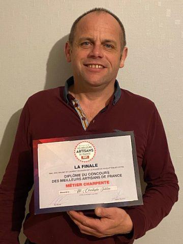 Jublan Charpentier Certificat Meilleur Artisan France