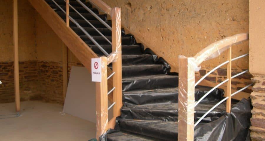 escalier bois ille et vilaine